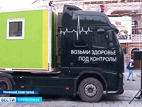 Пресс-релизы: Мобильный комплекс STADA Diagnostik принял участие во Всемирном дне здоровья